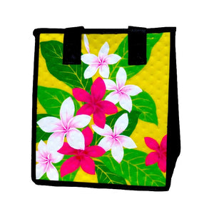 Velvet Yellow Petite Hawaiian Insulated Hot/Cold Reusable Bag