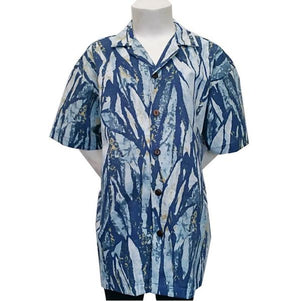 Abstract Rainforest Boys Aloha Shirt