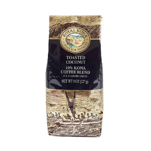 Royal Kona 10% Blend - Toasted Coconut (8oz) APG