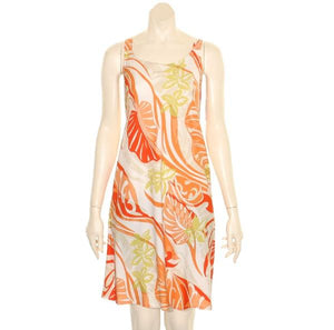 *New* Tropical Swirl Short Dress