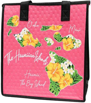 Current Pink   Medium Insulated Hot/Cold Reusable Bag