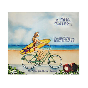 Chocolate Covered Macadamia Wholes -Beach Cruiser - 3 oz