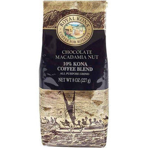 Royal Kona 10% Blend - Chocolate Macadamia (8oz) APG