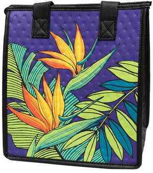 Hilo Bay Purple Petite Hawaiian Insulated Hot/Cold Reusable Bag