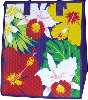 Jungle Party Purple Large Insulated Hot/Cold Reusable Bag