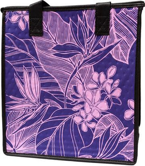 Kulolo Purple  Medium  Insulated Hot/Cold Reusable Bag