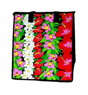 Lei Stand Cream  Insulated Hot/Cold Reusable Bag~Medium