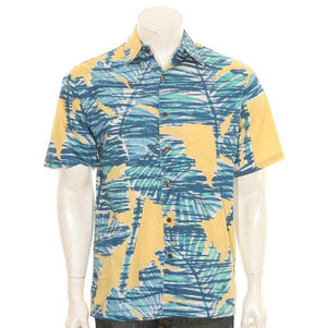 Mix Leaf Aloha Shirt