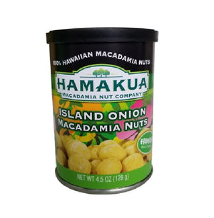 ISLAND ONION MACADAMIA NUTS CAN 4.5 oz.