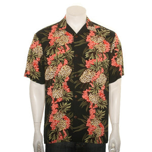 Pineapple Panel Aloha Shirt