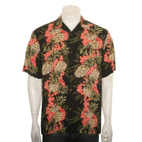 Pineapple Panel Men's Aloha Shirt