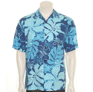 Royal Hibiscus Aloha Shirt