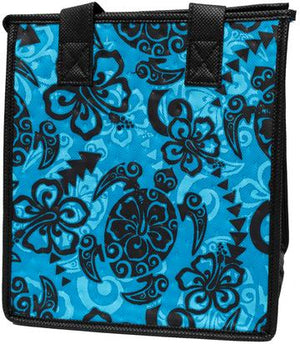 Shoots Turq  Petite  Hawaiian Insulated Hot/Cold Reusable Bag