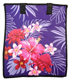 Swing Purple Large Insulated Hot/Cold Reusable Bag