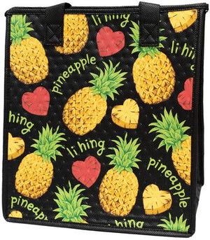 Vida Loca Black  Medium  Insulated Hot/Cold Reusable Bag