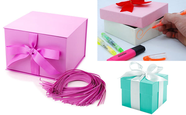 How to Color the Gift Box and Add Simple Designs?
