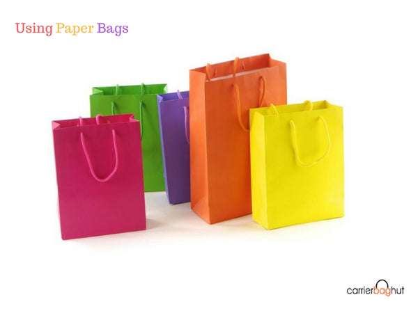 Different Reasons for People Using Paper Bags