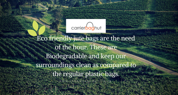 Eco-Friendly and Trendy Jute Bags From Carrier Bag Hut