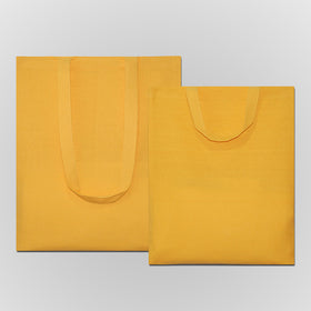 Yellow Natural Cotton Bags