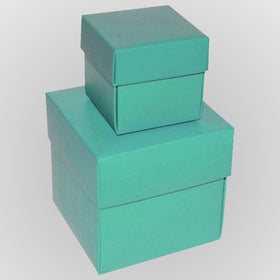 Aqua-green-square-matt-laminated-gift-boxes-2-pieces