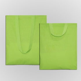 Green Natural Cotton Bags