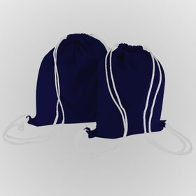 Royal Blue Canvas Backpack Bags