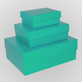 Aqua-blue-rectangle-gloss-laminated-gift-boxes-2-pieces