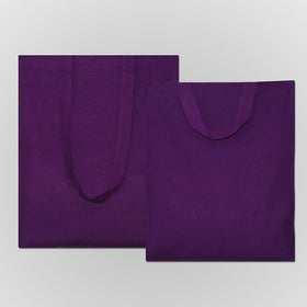 Violet Natural Cotton Bags