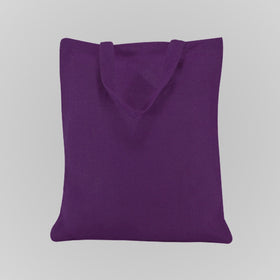 Purple Natural Jute Bags