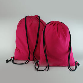 Fuchsia-natural-cotton-backpack-bags