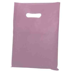 Light Pink Polythene Carrier Bags