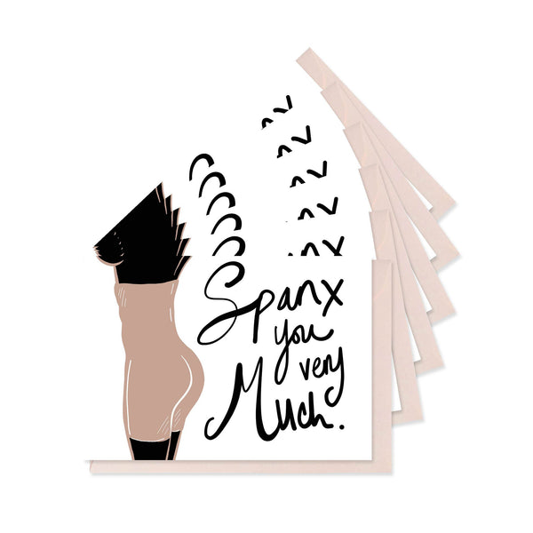 Spanx You Very Much - Boxed Set of Six