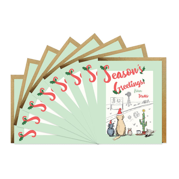 Season's Greetings From Texas - Boxed Set of Six
