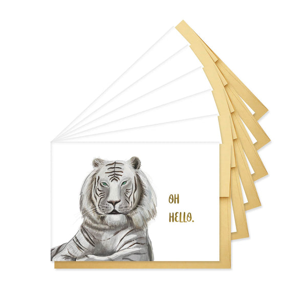 Hello Tiger Stationery - Boxed Set of Six