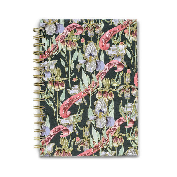 Bloom My Darling Spiral Notebook