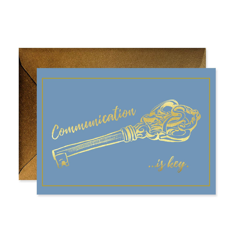 Communication is Key Stationery