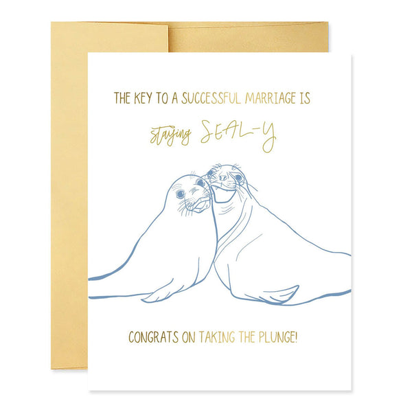 Stay Seal-y Wedding
