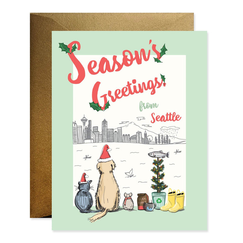 Season's Greetings From Seattle