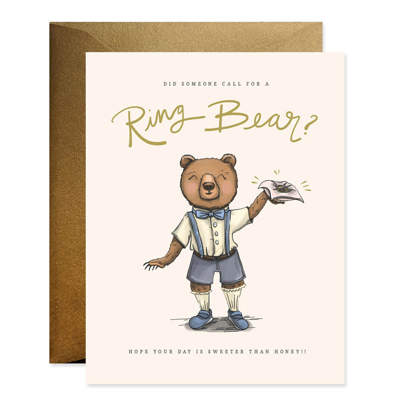 Ring Bear Wedding