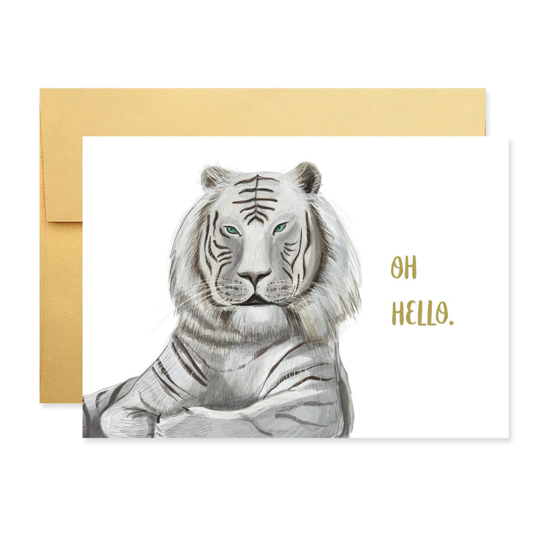 Hello Tiger Stationery