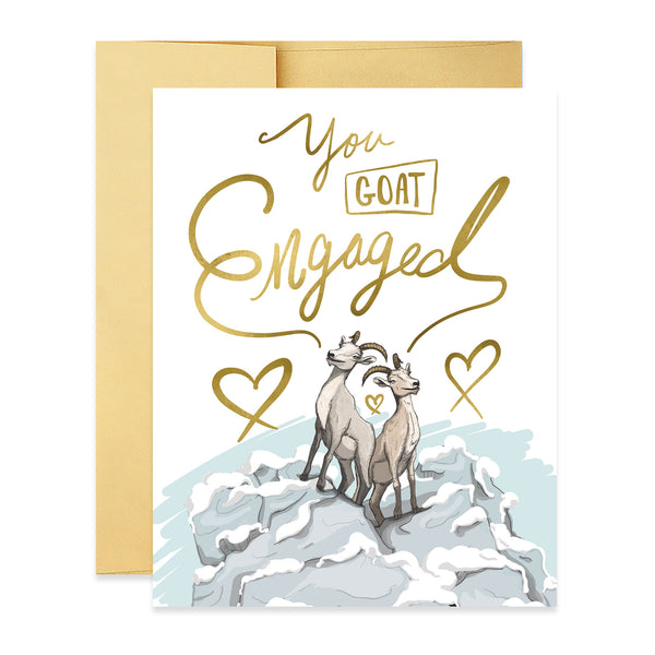 You Goat Engaged