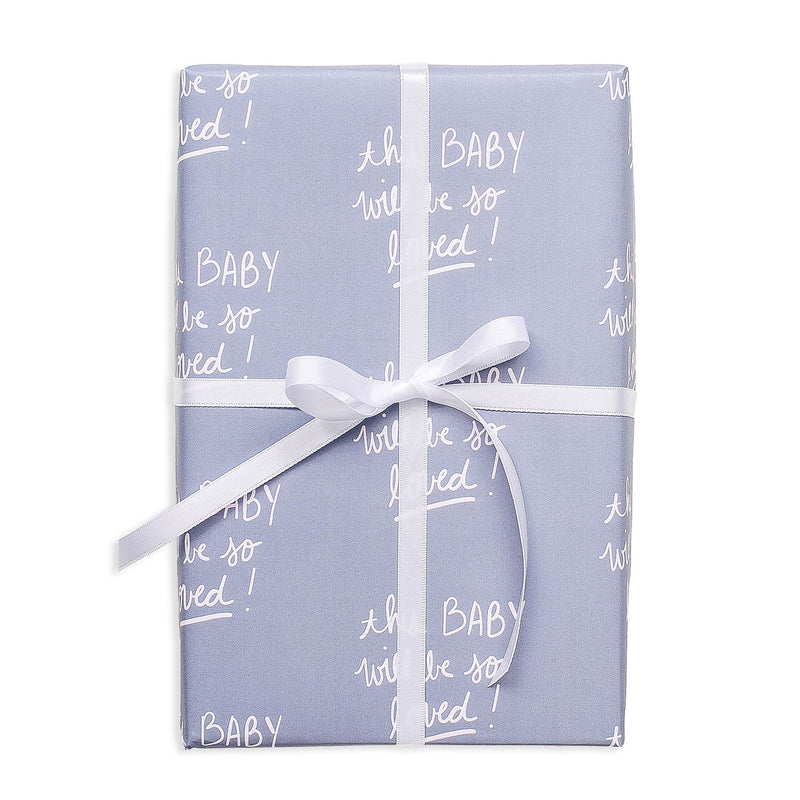 So Loved Baby Gift Wrap