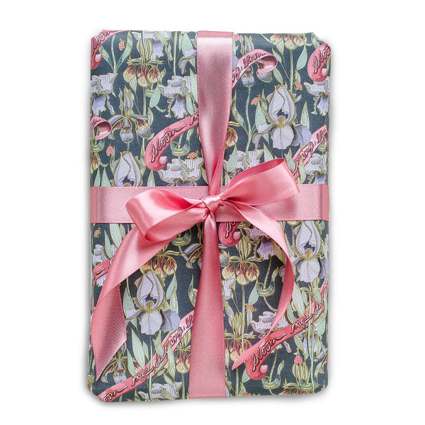 Black Bloom My Darling Gift Wrap