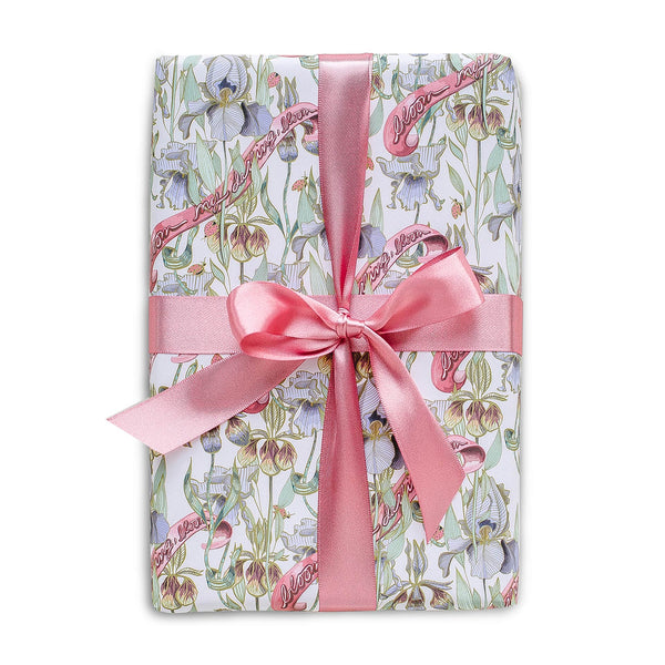 White Bloom My Darling Gift Wrap