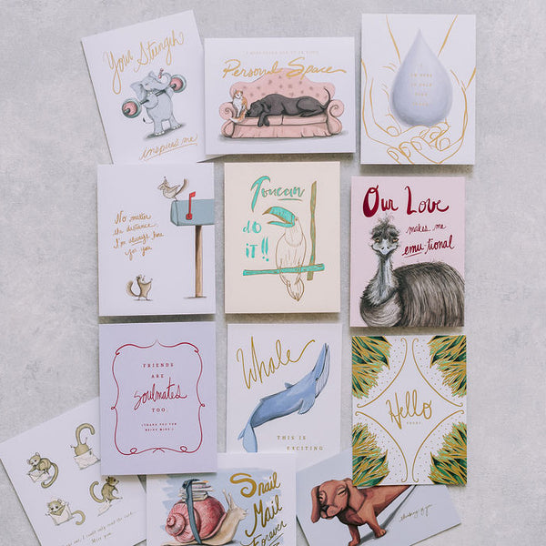 Year Of Connection Greeting Card Bundle