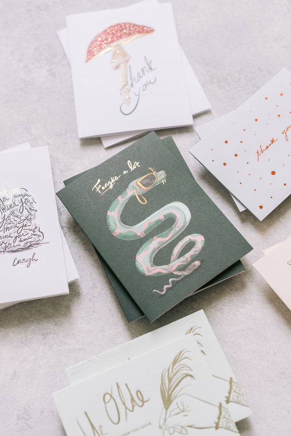 Year Of Thanks Greeting Card Bundle