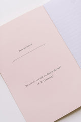 Pink Underwater Ball Softcover Notebook
