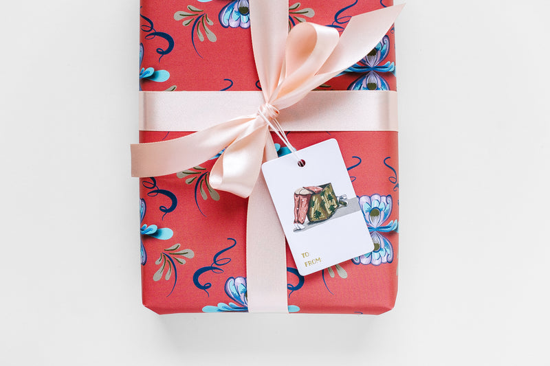 Cheeky Christmas Gift Tag Set
