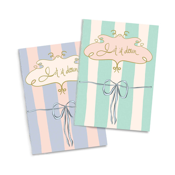 Jot It Down Notebook Duo