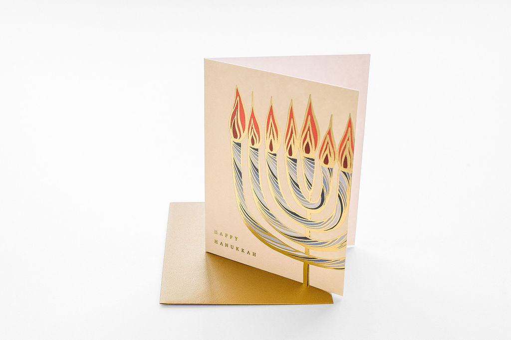 Nouveau Menorah - Boxed Set of Six